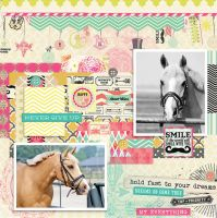 Scrap layout - 2307 + PSD by Missesglass
