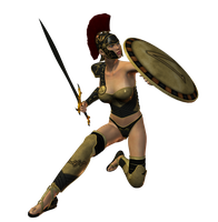 Spartana : Female Warrior 002 by Selficide-Stock