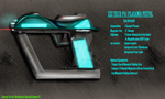 ZeiTech P61 Concept Art: Side View by BlakeJX