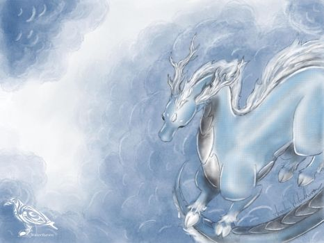 Storm Kirin by SarahWaterRaven