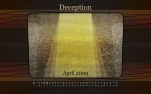 Deception Red: April 09 by fudgegraphics