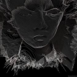Portrait of a young man II - 3D by daaram