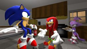 Shut the hell up, Knuckles. by TheRiverKruse
