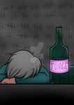 I drink to forget but i always remember by kuraikitsune13