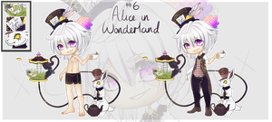 [CLOSED] Driftling - Alice In Wonderland Theme #6 by x-Cute-Kitty-x