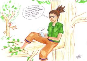 Shikamaru for PetitePatate by dussydelf