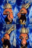 Scar Lion King Musical head by temperance