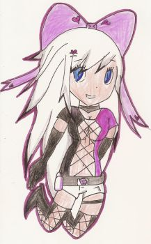 my soul eater character by AshleytheWolff