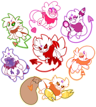 Seven Deadly Sins by pupom