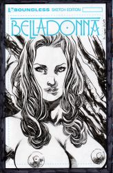 BELLADONNA'S SKETCH COVERS#60/60 by jdavidlee1979