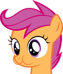 puffy cheek scootaloo by Scotch208