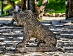 Little stone lion by forgottenson1