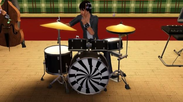 Ringo on drums by BeagleAgent
