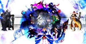 Fate grand order wallpaper title by mortred039ex