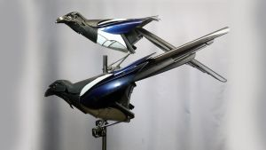 Magpies by HubcapCreatures