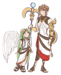 LegendaryNayla 35 14 Kid Icarus Pit And Palutena Roleswap By Quextamon