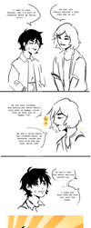Smile { quick comic } by R0BUTT