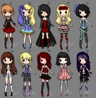Gothic Adopts (CLOSED) by Musicallyadopted