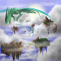 Skyworld by Crazy-Cat009