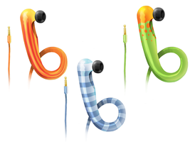 Tentacle Ear Speaker Concept by lithium-sound