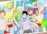 Finished Beach Anime by lennlandry