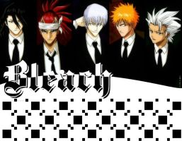Checkered Bleach Wallpaper by Tai-la-Mar