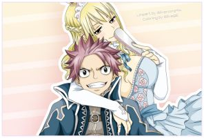 King and Queen - NaLu by SilvaSE