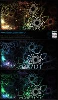 Fractal Stock Pack 2 (transparent PNG) by Hexe78