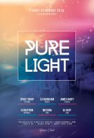 Pure Light Flyer by styleWish