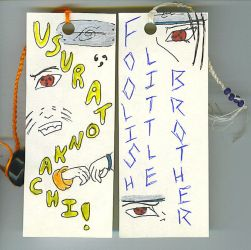 --Brothers-- bookmarks -front- by Aisuryuu