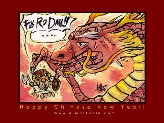 Happy Chinese New Year 2012 by aimo
