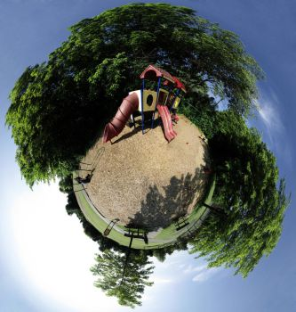 Mini Planet - Playground by electricjonny