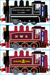 Rosie the SR USA Dock Tank Engine by Galaxy-Afro