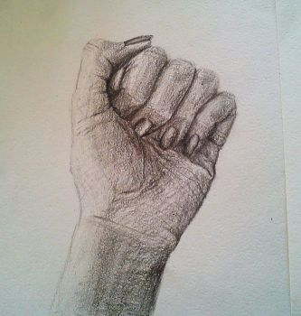 Hand Study by AKIC96