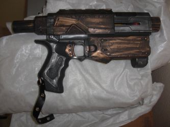 Steampunk Nerf Recon Pistol by Neo-Creations