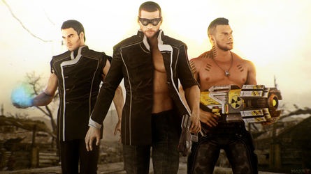 Party is Over (Mass Effect 3) by toxioneer