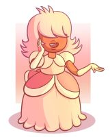 A Pleasant Padparadcha by VacantWhale
