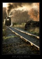 Old Steam Engine by leavenotrase