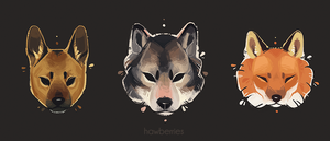 #dogsquad by hawberries