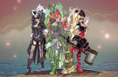 Villainous Pirate Sirens