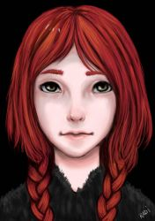 Krista character design by RadiArt