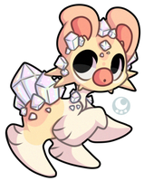 Seashimi #97 - Pastel Quartz (GC Auction Closed) by Momoless