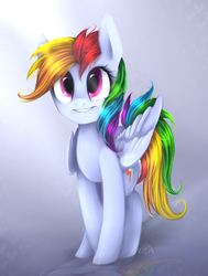 Rainbow dash by Riddle-Kay