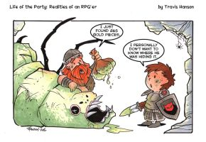 Where the gold comes from... RPG Comic by travisJhanson