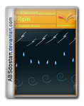 3 Illustrator brushes Rain by absdostan