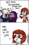 ME3: Got Something On Your Face by DivaXenia