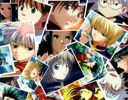 HunterXHunter Wall 1 by animemangakuryujiru