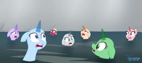 Base MLP #21 [With Background] by Angelina-Pax