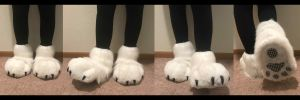 First Sock Paws by Fluffy-Paw-Pads