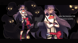 OPEN NECROMANCER V ADOPT AUCTION by miotess-adopts